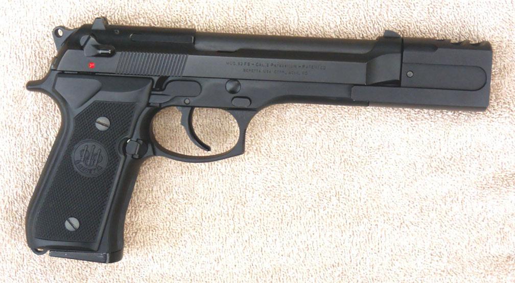 Beretta m9 compensator