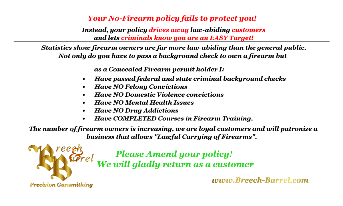 IllinoisCarry No Guns No Money cards - Illinois Right to Carry ...