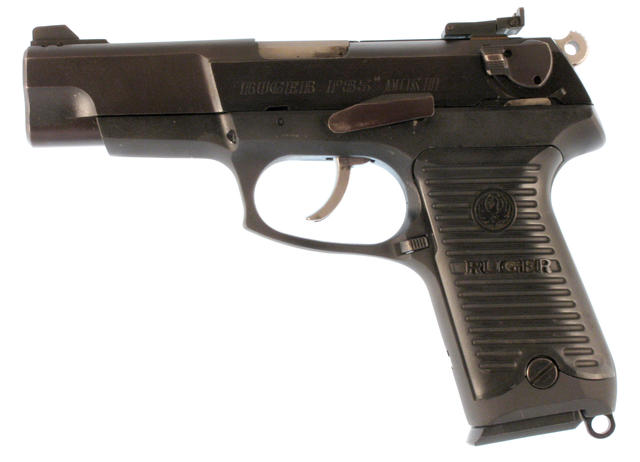 Will not Field strip a ruger p85 pistol this