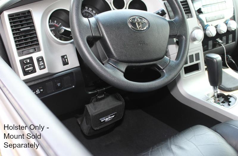 jeep wrangler gun holster mount car interior design. Black Bedroom Furniture Sets. Home Design Ideas